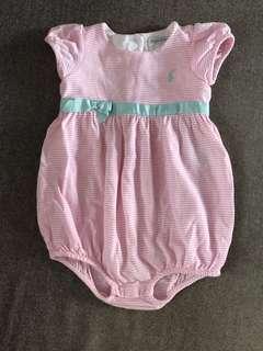 Polo Ralph Lauren Baby Romper (12M)