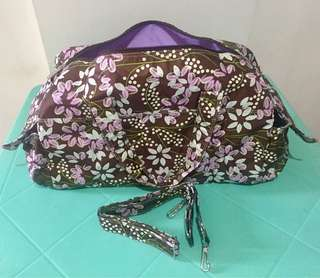 Preloved Heartstrings Floral Duffle/Travel Bag