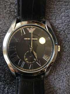 Armani Men/Woman leather Watch. RRP $229