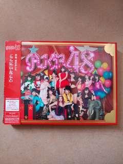 AKB48 日版大碟 ここにいたこと CD+DVD+PHOTO BOOKLET