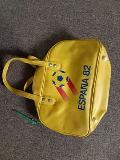 Vintage bag Espana 82 FIFA world cup