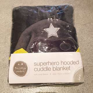 Super Hero Cuddle Blanket