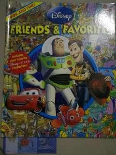 Disney Friends & Favorites Look And Find Hardbound Book Disney