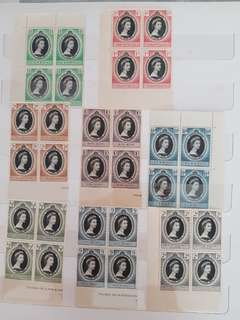 Coronation 2nd June 1953 old stamps