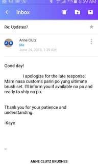 Updates AnneClutz Brushes