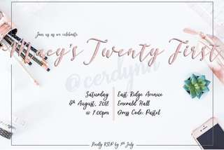 Invitation Card Customisation - 7