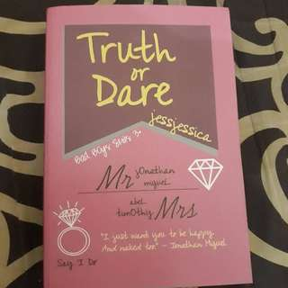 Novel Wattpad Truth Or Dare