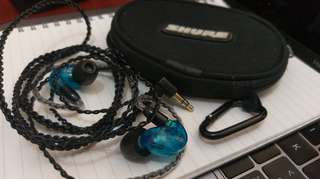 Shure se 215 special edition 隔音耳機