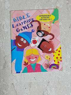 🚚 Bible learning games reproducible activities for age 4-5