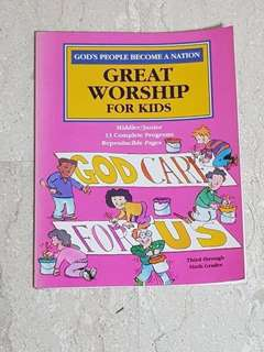 🚚 Great worship for kids (Middler/ Junior) 3rd-6th graders #caroupay