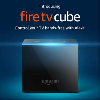 🚚 $175 -  NEW Fire TV Cube with Alexa and 4K Ultra HD.