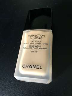 Chanel Foundation-Perfection Lumiere Long Wear