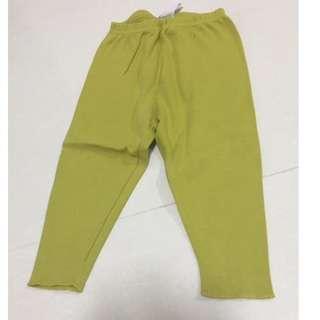 Bonpoint mustard yellow leggings (Size: 12M) Perfect Condition