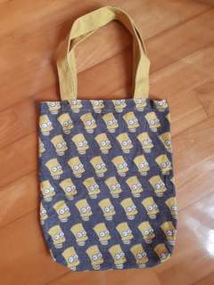 Simpson 綿麻布袋