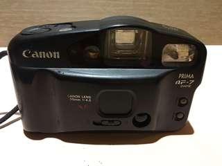 Canon PRIMA AF-7底片型相機  PRIMA AF-7底片相機 傻瓜相機 早期底片相機 底片型相機 相機