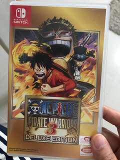 Nintendo Switch One Piece Warriors 3