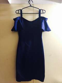 Karimadon Navy Blue Dress