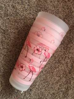 Pink Flamingo Tall Cups