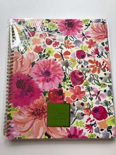 Kate Spade floral note book