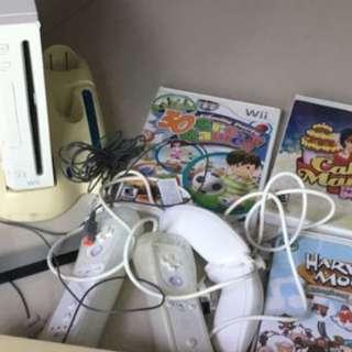 Wii Nintendo Game Set