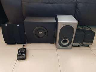 🚚 Altec Lansing Speakers 2 sets available