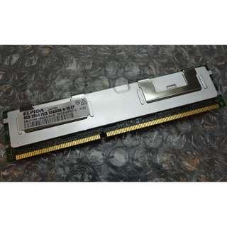 🚚 IBM 4GB PC3-10600 DDR3-1333 2Rx4 ECCwith metal casing