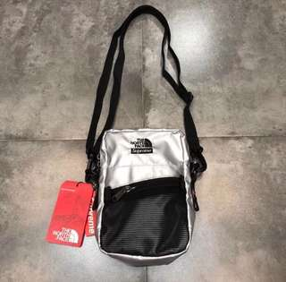New💥🈹Supreme 18SS TNF Metallic Shoulder Bag