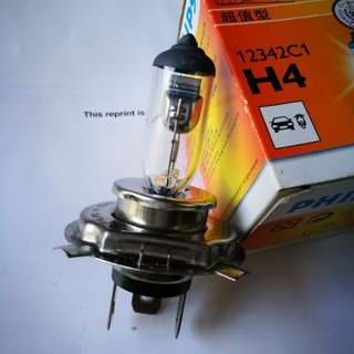 Myvi Headlight Bulb H4 Philips  12V 60/55W