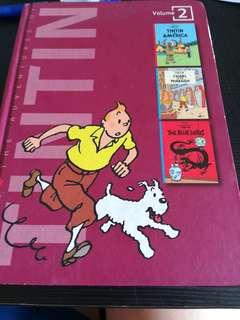 Tintin volume 2 comic