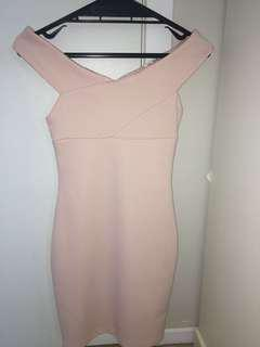 MISS SELFRIDGE PINK DRESS