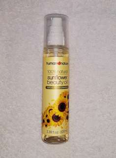 100mL Human Nature Sunflower Body Oil