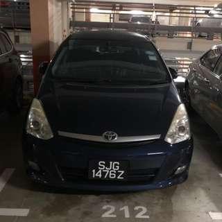 Car rental for grab