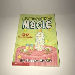 Super science magic kids book