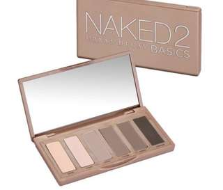 BN Urban Decay Naked2 Basics
