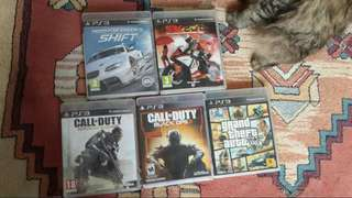 Ps3 games call of duty black ops 3, call of duty advance warfare, need for speed shift, sbk2011
