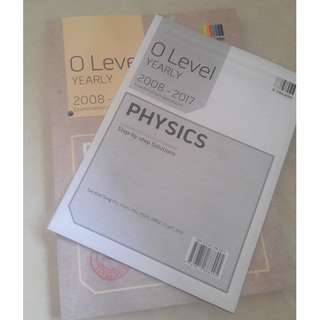 OLevel Yearly TYS (Pure Physics 2008-2017)