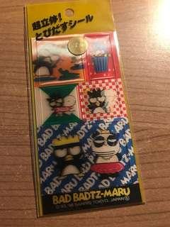 絕版 Sanrio XO 立體貼紙 sticker