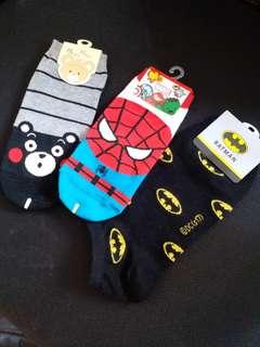 Socks 韓國襪 HK30三對,HK15一對