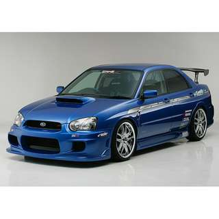 Subaru Impreza Version 8 INGS+1 Bodykit