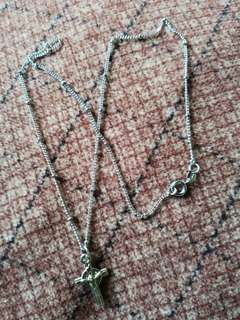 92.5 Crucifix Necklace
