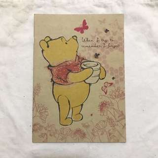 BN Winnie The Pooh B5 Size Notebook Journal (Set of 10)