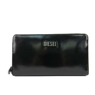 Diesel Women Long Wallet(100% Original / REAL) goods in stock X01713-PS941-H4624 黑色 BLACK