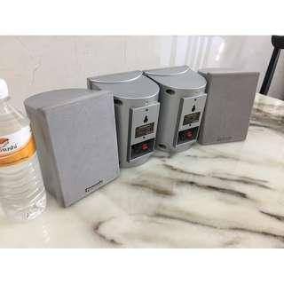 Panasonic 8 ohm speakers