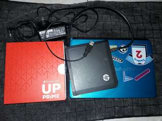 ACER NETBOOK + HP DVD EXTERNAL + BRANDNEW PHONE