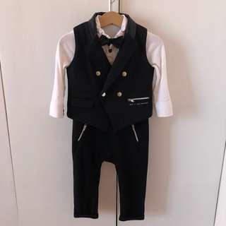 Mothercare Baby Tuxedo 9-12mos