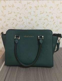 🚚 綠色手提包