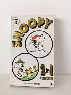 Snoopy 2 in 1 Collection Book 5