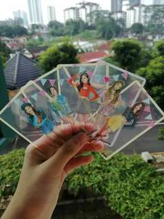 Twice trans photo card (9 design)