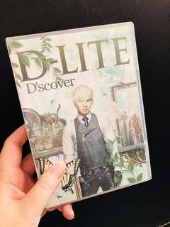 姜大聲 姜大成 cd D-Lite 日本專輯 Bigbang