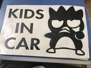 XO 車貼